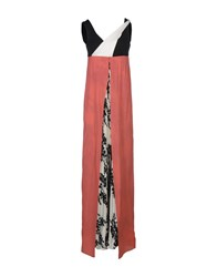 1 One Dresses Long Dresses Women Coral