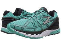 Zoot Sports Diego Aquamarine Pewter Black Women's Running Shoes Blue
