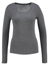 Opus Sorana Long Sleeved Top Raven Grey