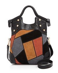 Foley Corinna And Patchwork Fc Lady Tote Black Multi