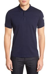 Kent And Curwen Men's Kent And Curwen Trim Fit Side Panel Polo