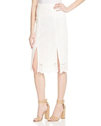 Whistles Clementine Lace Skirt 100 Bloomingdale's Exclusive Ivory