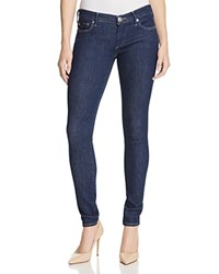 True Religion Casey Low Rise Super Skinny Jeans In Enzyme Rinse