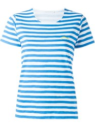 Societe Anonyme Striped T Shirt Blue