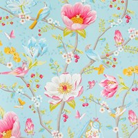 Pip Studio Chinese Garden Wallpaper 341002 Light Blue
