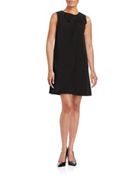 Erin Fetherston Bow Neck Shift Dress Black
