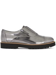Hogan 'Route Restyling Elastico' Loafers Grey