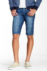 Stitch's Jeans Woven Slim Short Green