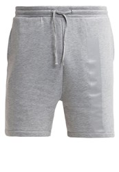Your Turn Tracksuit Bottoms Mottled Grey