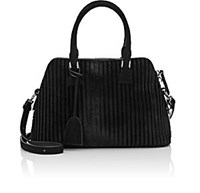 Maison Martin Margiela Women's Calf Hair 5Ac Small Satchel Black