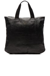 Common Projects Leather Utility Bag In Black