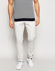 Reiss Chinos In Slim Fit Stone