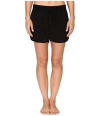 Hard Tail Pull On Shorts Black Women's Shorts