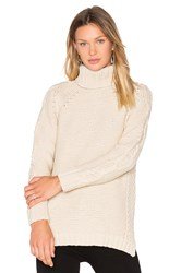 525 America Cable Knit Sweater Beige