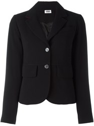 Sonia Rykiel By Flap Pocket Blazer Black