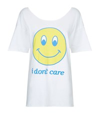 Wildfox Couture Wildfox I Don't Care Overland Tunic T Shirt Female White