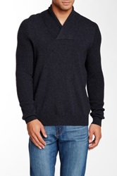 Autumn Cashmere Cashmere Shaw Collar Sweater