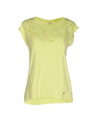 Numph Numph Topwear T Shirts Women Acid Green