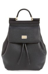 Dolce And Gabbana 'Mini Miss Sicily' Leather Backpack