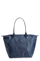 Men's Lipault Paris Shopping Tote Bag Blue Navy