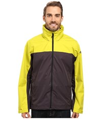 Adidas Wandertag Jacket Unity Lime Utility Black Men's Coat Brown