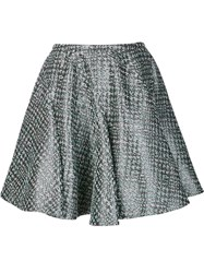 Zac Posen Skater Skirt Grey
