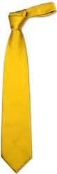 Forzieri Solid Golden Yellow Extra Long Tie