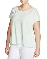 Eileen Fisher Plus Jersey Tee Green Mint