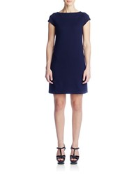 Susana Monaco Hana Boatneck Dress Midnight