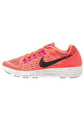 Nike Performance Lunartempo Lightweight Running Shoes Hyper Orange Black Summit White