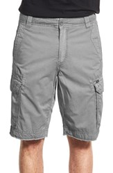 Men's Union 'Pacific Coast' Raw Hem Cargo Shorts Rainier