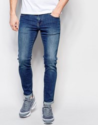 Dr. Denim Dr Denim Jeans Snap Skinny Fit Mid Stone Wash Mid Stone