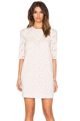 Hoss Intropia Eyelet Dress Blush