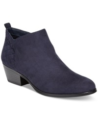 Style And Co. Wessley Casual Booties Women's Shoes Navy