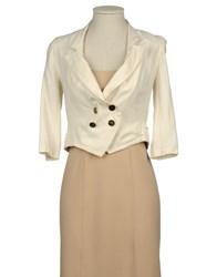 Yumi' Suits And Jackets Blazers Women Ivory