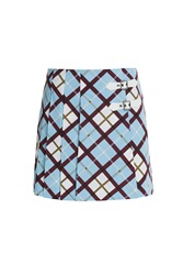 Marc By Marc Jacobs Plaid Mini Skirt Multicolor
