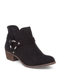 Lucky Brand Harness Ankle Booties Black