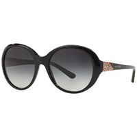 Bulgari Bvlgari Bv8154b Oversized Oval Sunglasses Black