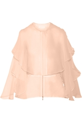 Antonio Berardi Layered Silk Organza Top