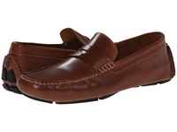 Cole Haan Howland Penny Saddle Tan Men's Slip On Dress Shoes Brown