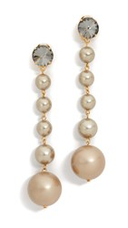 Marni Earrings With Resin Soft Beige