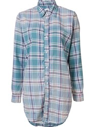 Nsf Plaid Shirt Blue