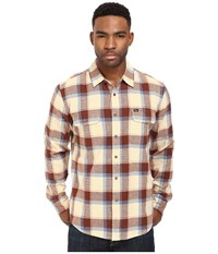 Obey Gower Woven Khaki Men's Clothing