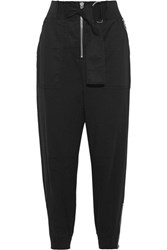 3.1 Phillip Lim Cotton Twill Tapered Pants Black