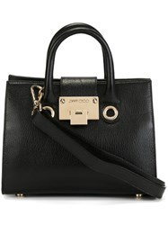 Jimmy Choo Small 'Riley' Tote Black