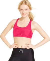 Roxy Spirit Medium Impact Racerback Sports Bra Azalea