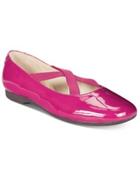 Taryn Rose Tr Beverly Flats Only At Macy's Women's Shoes Beet Red