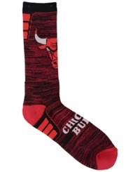 For Bare Feet Chicago Bulls Jolt Socks Red Black