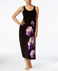 Alfani Floral Print U Neck Nightgown Only At Macy's Floral Stamp