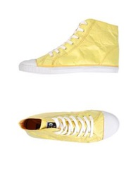 Civic Duty High Tops And Trainers Light Yellow